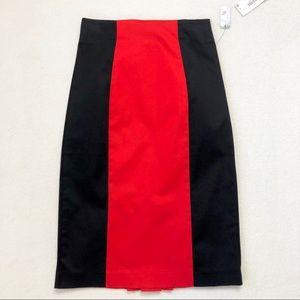 Worthington Skirts - Worthington High Waisted Color Block Pencil Skirt